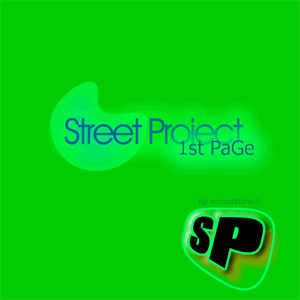 Street Project – 1st Page